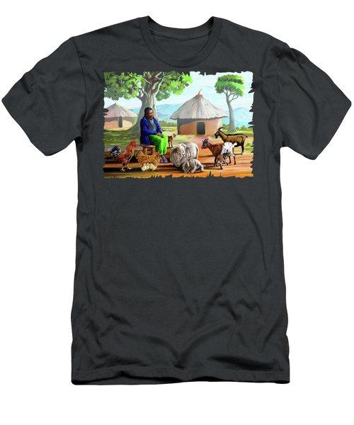 Change Of Scene Men's T-Shirt (Slim Fit) by Anthony Mwangi