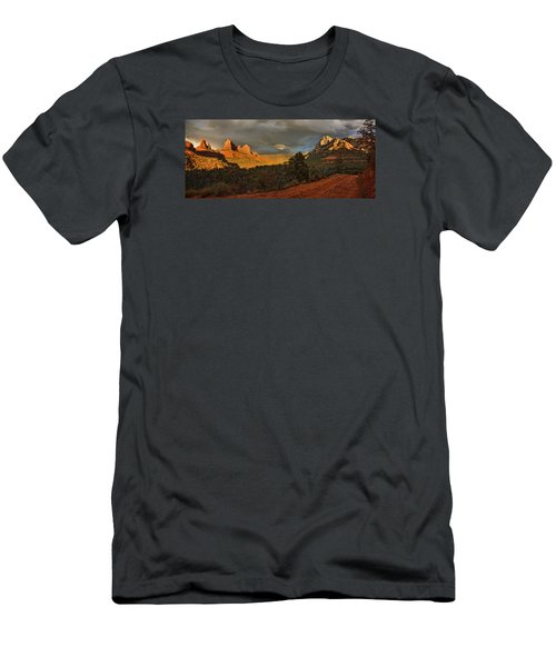 Changing Hues At Sunset Men's T-Shirt (Athletic Fit)