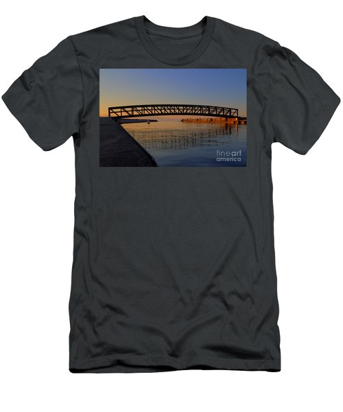 Channel Sunset Men's T-Shirt (Athletic Fit)