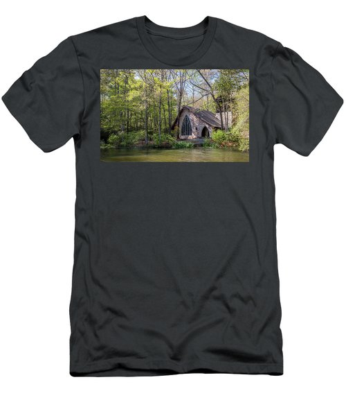 Chapel In The Woods Men's T-Shirt (Athletic Fit)