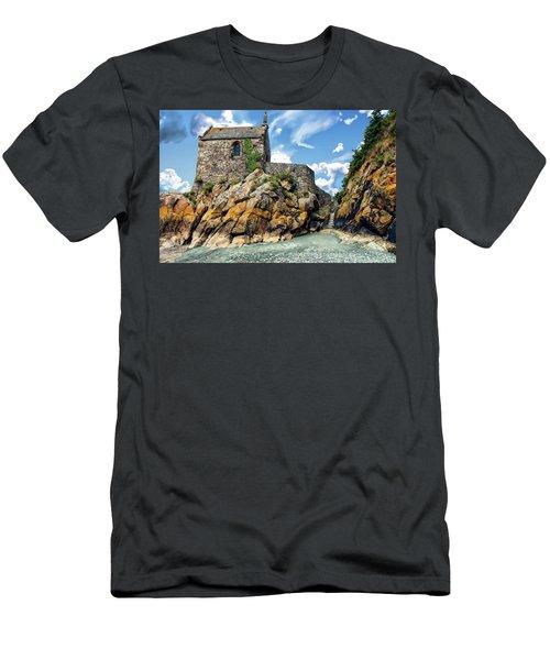 Chapel Saint-aubert Men's T-Shirt (Athletic Fit)