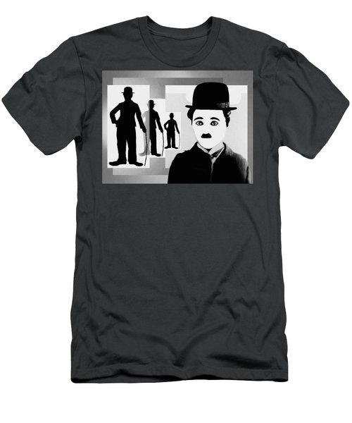 Chaplin, Charlie Chaplin Men's T-Shirt (Athletic Fit)