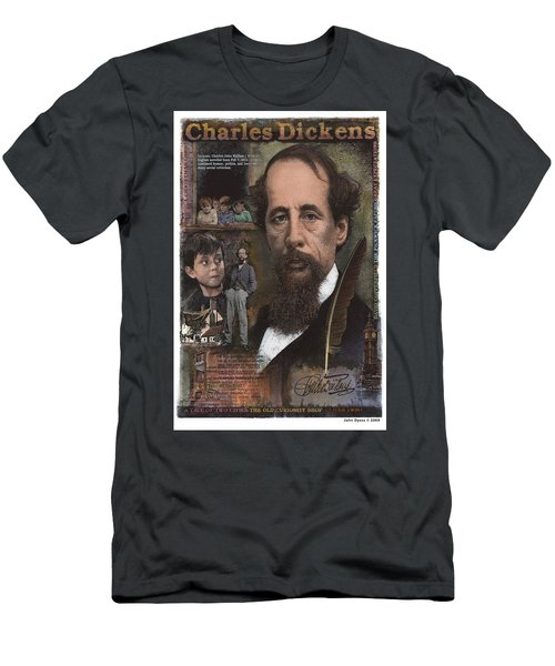 Charles Dickens Men's T-Shirt (Athletic Fit)