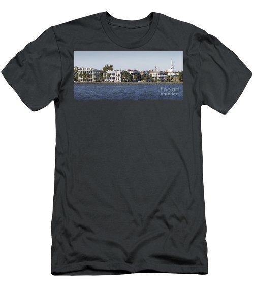 Charleston Battery Row Panorama 2 Men's T-Shirt (Athletic Fit)