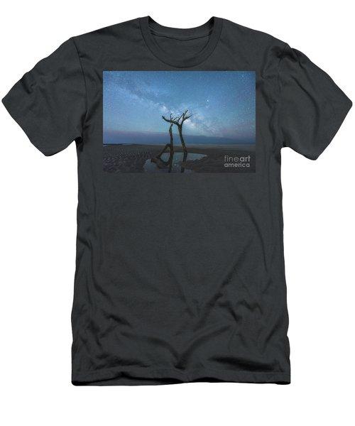 Charleston Milkyway Men's T-Shirt (Slim Fit) by Robert Loe