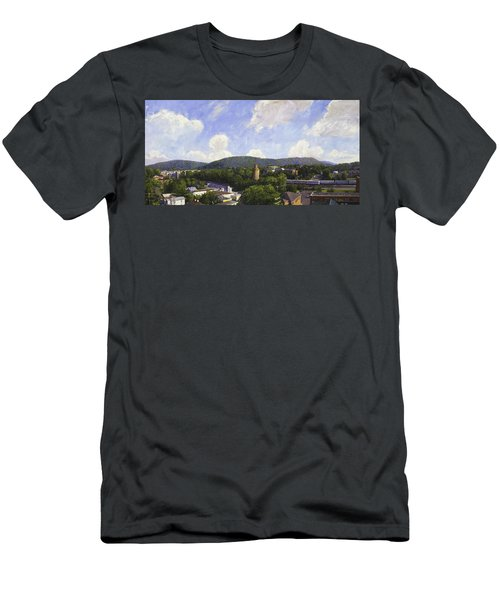 Charlottesville Looking East Men's T-Shirt (Athletic Fit)