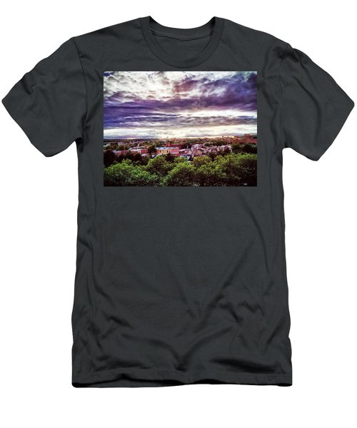 Charm City Sunset Men's T-Shirt (Athletic Fit)