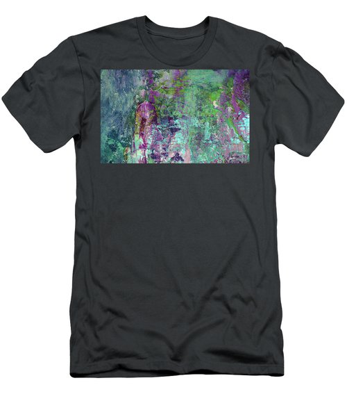 Chasing The Dream - Contemporary Colorful Abstract Art Painting Men's T-Shirt (Athletic Fit)