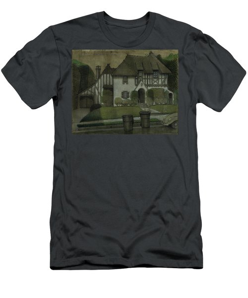 Chateau In The City Men's T-Shirt (Athletic Fit)