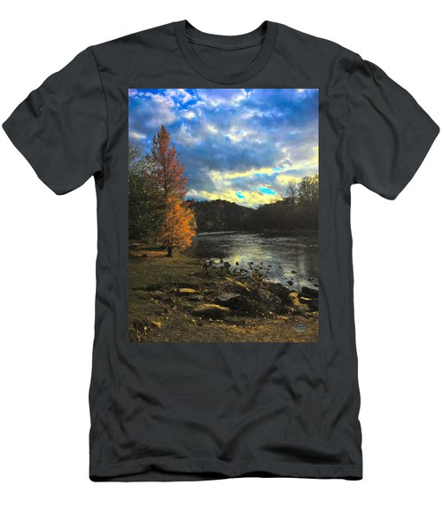 Chattahoochee Fall Men's T-Shirt (Athletic Fit)