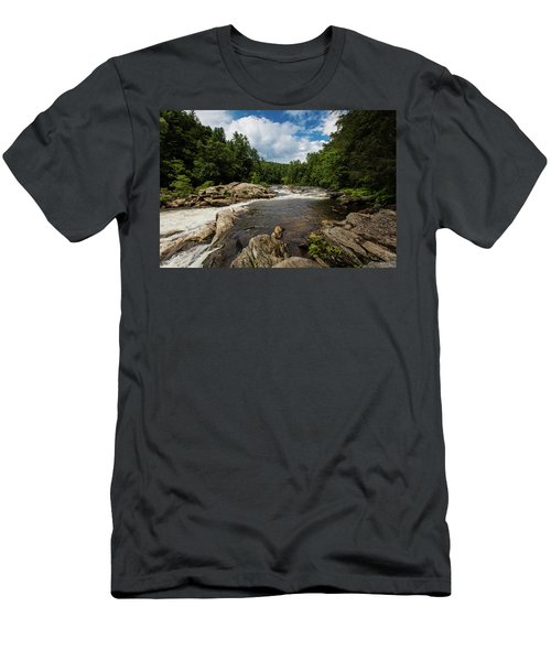 Chattooga Bull Sluice Men's T-Shirt (Athletic Fit)