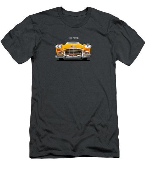 Checker Cab Men's T-Shirt (Athletic Fit)