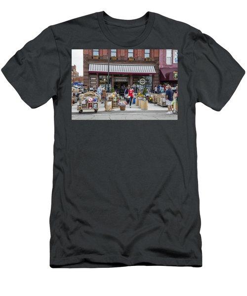 Cheese Shop In Detroit  Men's T-Shirt (Athletic Fit)