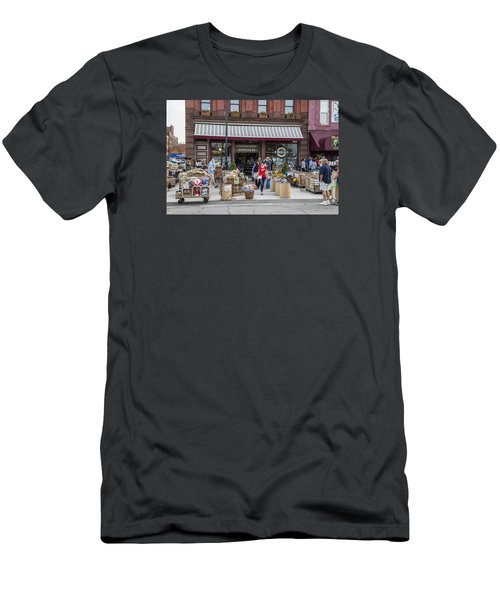 Cheese Shop In Detroit  Men's T-Shirt (Athletic Fit)