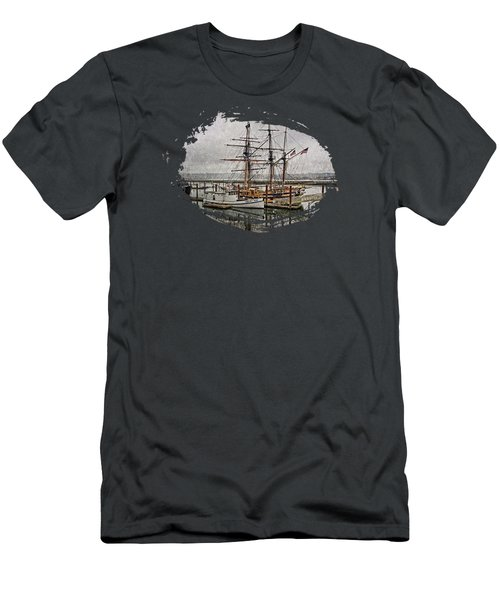 Chelsea Rose And Tall Ships Men's T-Shirt (Athletic Fit)
