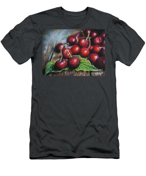 Cherries Men's T-Shirt (Athletic Fit)