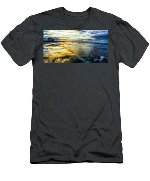 Cherry Grove Golden Shimmer Men's T-Shirt (Athletic Fit)
