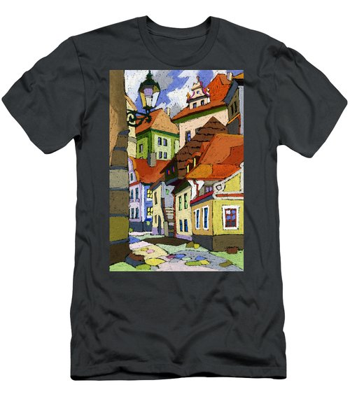 Chesky Krumlov Masna Street 1 Men's T-Shirt (Athletic Fit)