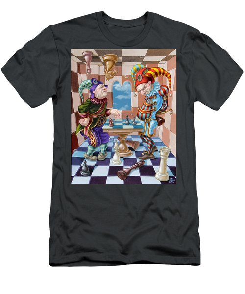 Chess Players Men's T-Shirt (Athletic Fit)