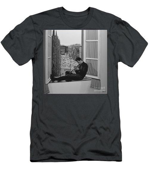 Chet Baker Men's T-Shirt (Athletic Fit)