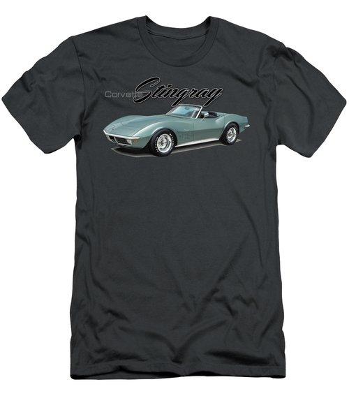 Chevrolet Corvette Stingray Convertible Men's T-Shirt (Athletic Fit)