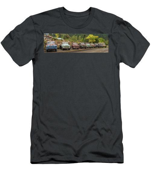 Chevy Line Up Men's T-Shirt (Athletic Fit)