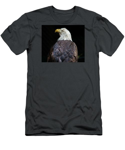 Cheyenne The Eagle Men's T-Shirt (Slim Fit) by Greg Nyquist