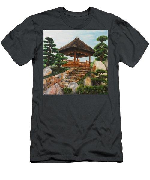 Chi Lin Nunnery Hong Kong Men's T-Shirt (Athletic Fit)