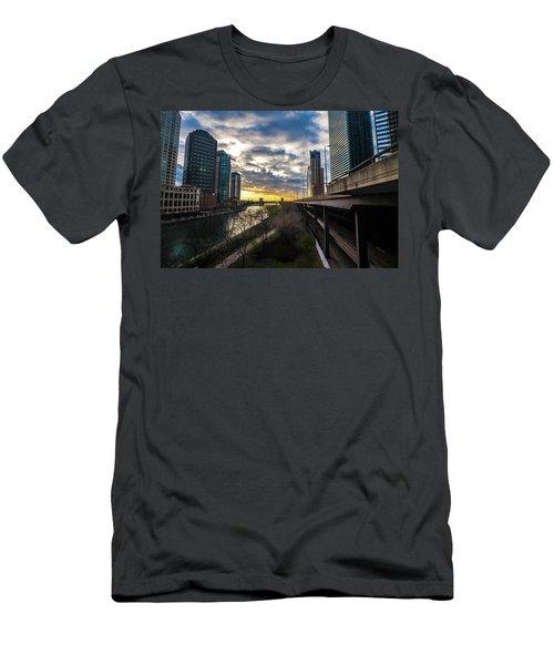 Chi Sunrise 2 Men's T-Shirt (Athletic Fit)
