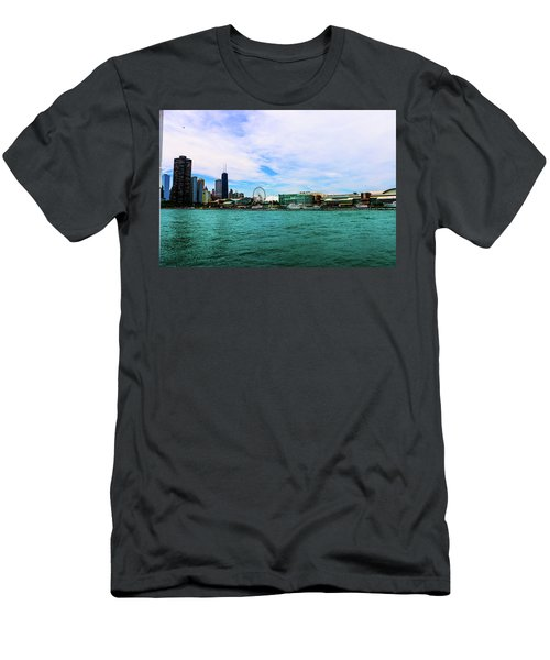 Chicago Blue Men's T-Shirt (Athletic Fit)