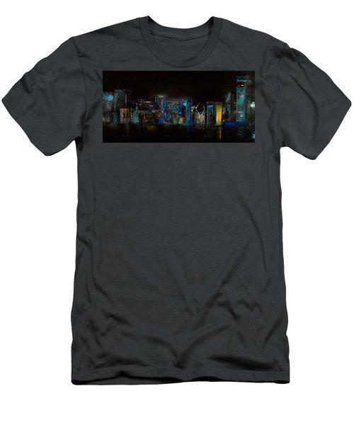 Chicago City Scene Men's T-Shirt (Athletic Fit)
