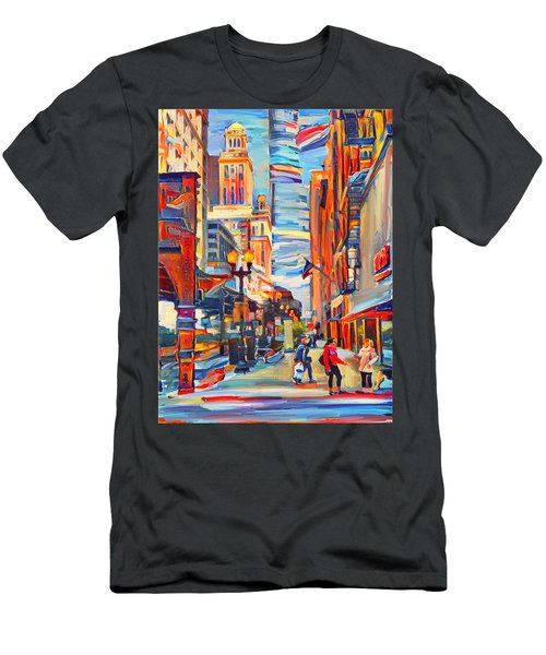 Chicago Colors 4 Men's T-Shirt (Athletic Fit)