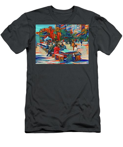 Chicago Millennium Sunday Men's T-Shirt (Athletic Fit)