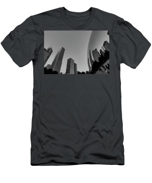 Chicago Reflections Men's T-Shirt (Athletic Fit)