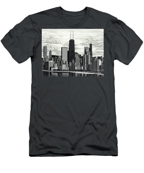 I Love Chicago Volume 1 Men's T-Shirt (Athletic Fit)