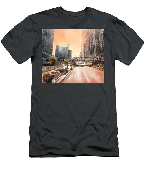 Chicago Street 2 Men's T-Shirt (Athletic Fit)