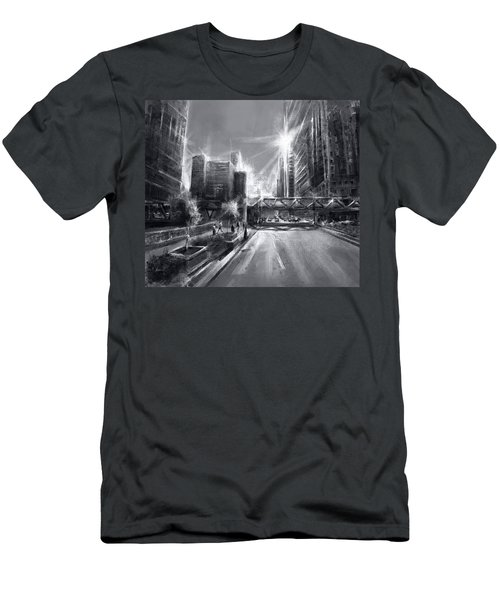 Chicago Street 4 Men's T-Shirt (Athletic Fit)