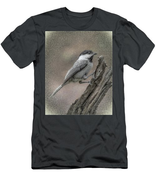 Chickadee Men's T-Shirt (Athletic Fit)