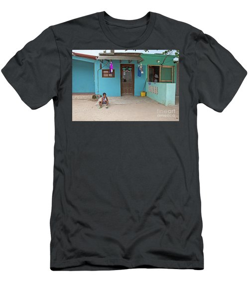 Child And House Men's T-Shirt (Athletic Fit)