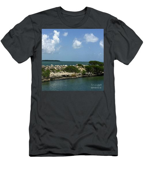 Chilling On The Water Men's T-Shirt (Athletic Fit)