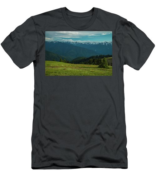 Chilling Out At Dusk Men's T-Shirt (Athletic Fit)