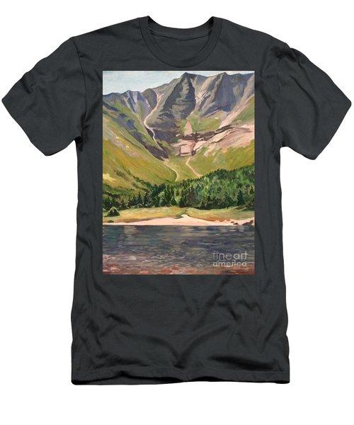 Chimney Pond At Katahdin Basin Men's T-Shirt (Athletic Fit)