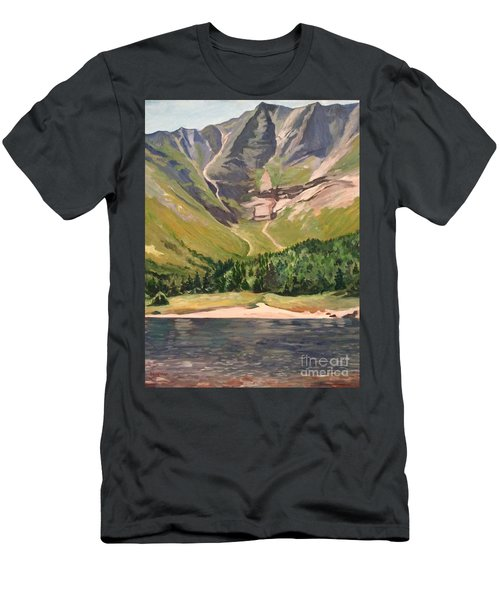 Chimney Pond At Katahdin Basin Men's T-Shirt (Athletic Fit)