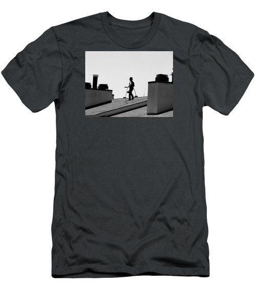 Chimney Sweep Men's T-Shirt (Slim Fit) by Helen Haw