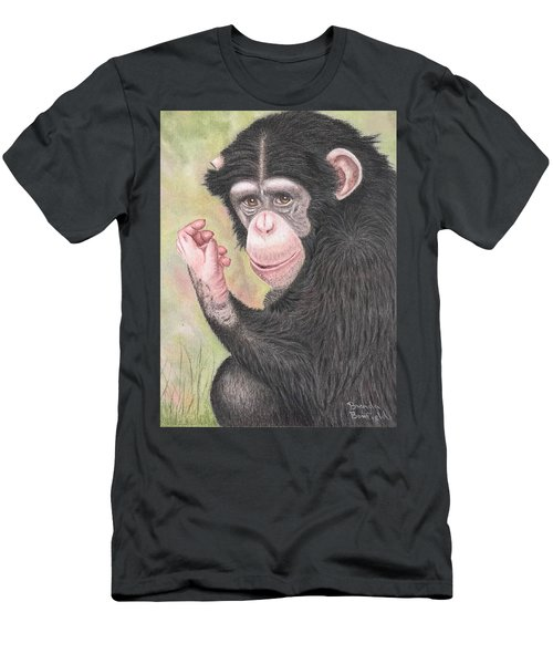Chimpanzee Men's T-Shirt (Athletic Fit)