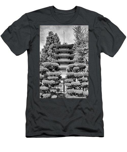 Golden Gate Park  Men's T-Shirt (Slim Fit) by Betty Pauwels