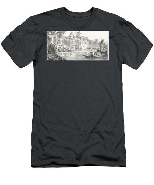 China War Men's T-Shirt (Athletic Fit)