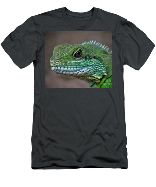 Men's T-Shirt (Slim Fit) featuring the photograph Chinese Water Dragon by Savannah Gibbs