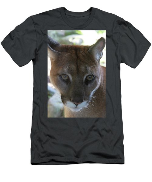 Men's T-Shirt (Slim Fit) featuring the photograph Chinook by Laddie Halupa