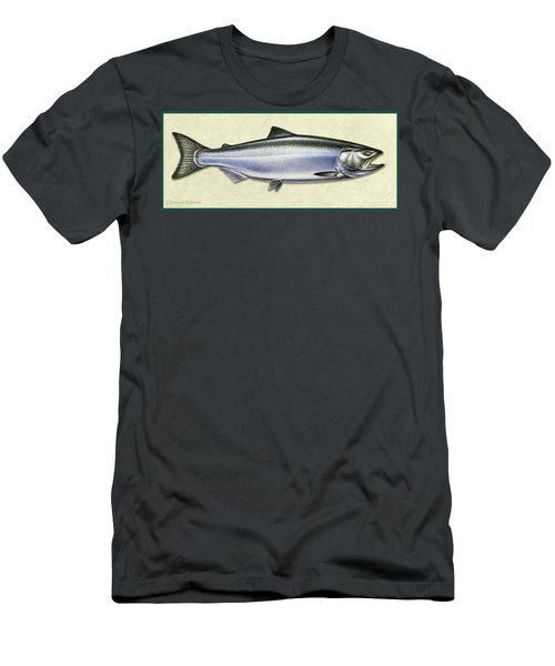 Chinook Salmon Id Men's T-Shirt (Athletic Fit)